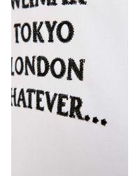 Soulland - White Parker Embellished Sweatshirt for Men - Lyst