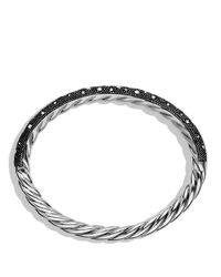 David Yurman - Metallic Midnight Melange Bracelet With Diamonds - Lyst