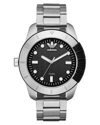 Adidas Originals - Metallic 'adh-1969' Bracelet Watch for Men - Lyst