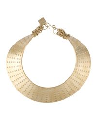 Kelly Wearstler | Metallic 7 Row Perf Collar Necklace | Lyst
