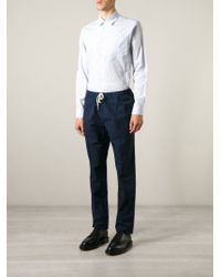Soulland - Blue 'huttnutt' Shirt for Men - Lyst