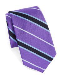 Lauren by Ralph Lauren | Purple Multi-striped Tie for Men | Lyst