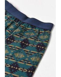 Urban Outfitters - Blue Blanket Printed Boxer Brief for Men - Lyst
