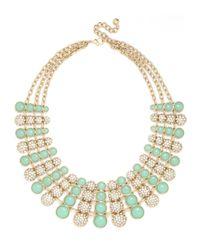 BaubleBar - Blue Gold Nonpareil Collar - Lyst