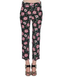 Marni - Multicolor Printed Trousers - Lyst