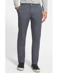 Bonobos - Gray Slim Fit Washed Cotton Chinos for Men - Lyst