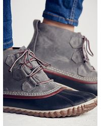 Free People - Gray Out N About Weather Boot - Lyst