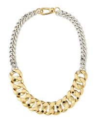 Marc By Marc Jacobs | Metallic Katie Mixed Metal Chain Necklace | Lyst