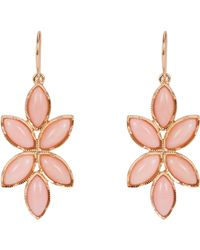 Irene Neuwirth | Pink Floral Drop Earrings | Lyst