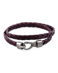 Tod's - Red 'my Colours' Bracelet for Men - Lyst