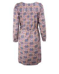 A.P.C. - Red Agathe Liberty Heart Print Belted Cotton Dress - Lyst