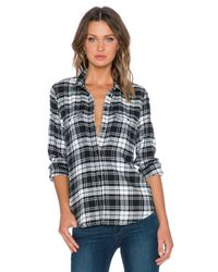 PAIGE - White Trudy Shirt - Lyst
