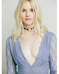 Free People - Gray Intimately Womens When In Rome Slip - Lyst