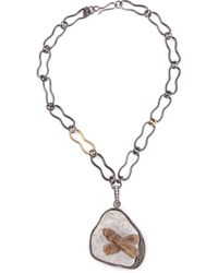 Kelly Wearstler | Gray 'roxbury' Pendant Necklace | Lyst