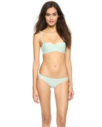 Prism - Punta Bikini Bottoms - Green - Lyst