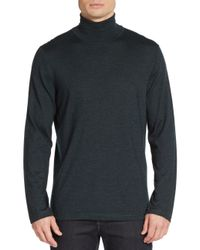 Kiton - Black Cashmere & Silk Turtleneck for Men - Lyst