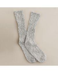 J.Crew - Gray Marled Socks for Men - Lyst
