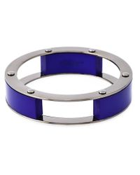 Erika Cavallini Semi Couture | Blue Multi Blocks Bracelet | Lyst