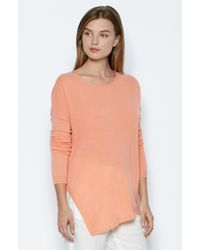Joie | Orange Anthenat Cashmere Sweater | Lyst