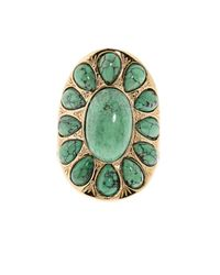 Aurelie Bidermann - Metallic Natural Stone Ring - Lyst