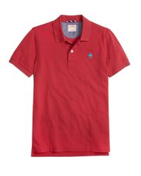 Brooks Brothers | Red Cotton Pique Polo Shirt for Men | Lyst