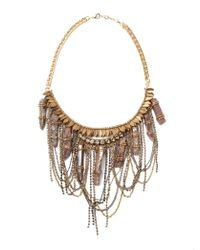 Deepa Gurnani | Metallic Ashlyn Necklace 1 | Lyst
