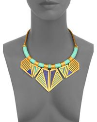 A Peace Treaty - Green Ohoyo Collar Necklace - Lyst