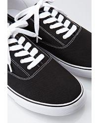 Forever 21 - Black Men Classic Canvas Sneakers for Men - Lyst