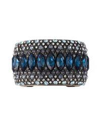 Lanvin | Blue Embellished Cuff | Lyst