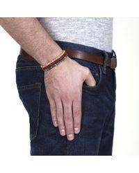 Lulu Frost - Black George Frost G. Frost Wooden Morse Bracelet Navy - Lyst