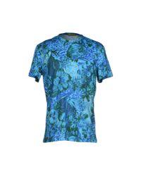 Versace Jeans - Blue T-shirt for Men - Lyst