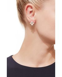 Dana Rebecca | Metallic 'jemma Morgan' Earrings | Lyst