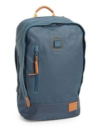 Nixon | Blue 'base' Backpack for Men | Lyst