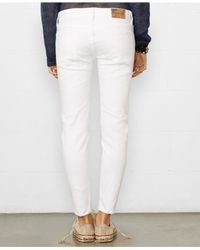 Denim & Supply Ralph Lauren - White Aurora Skinny Stretch Jeans - Lyst