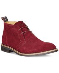 Tommy Hilfiger | Purple Adam Boots for Men | Lyst