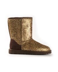 UGG | Metallic Classic Short Boot | Lyst