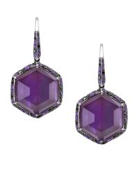 Stephen Webster | Metallic Deco Amethyst Earrings | Lyst