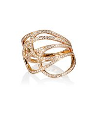 Repossi - Metallic La Ligne C Layered Ring - Lyst
