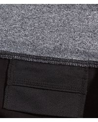 H&M - Black Yoga Trousers - Lyst