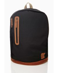 Forever 21 - Black Men Paneled Backpack for Men - Lyst