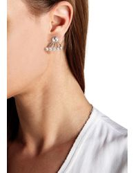 Ca&Lou | Metallic Pixie Swarovski Crystal Earrings | Lyst