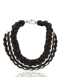 Alienina - Black Synthesis Collection Necklace for Men - Lyst