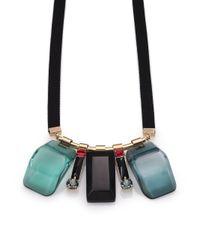 Marni | Green Multistone Pendant Necklace | Lyst