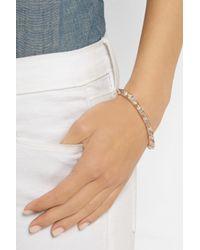 Anita Ko | Metallic Spike 18-Karat Rose Gold Diamond Bracelet | Lyst