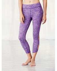 Free People - Purple Infinity Legging Infinity Bra - Lyst