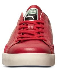 PUMA - Red Men'S Match Vulc Casual Sneakers From Finish Line for Men - Lyst