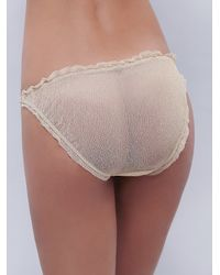 Free People - White Bells Will Be Ringing Undie - Lyst
