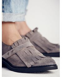 Free People | Gray Riders Kilty Brogue | Lyst