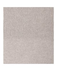 Loro Piana - Gray Fairmont Cashmere Sweater Dress - Lyst