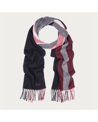 Bally - Black Trainspotting Scarf for Men - Lyst